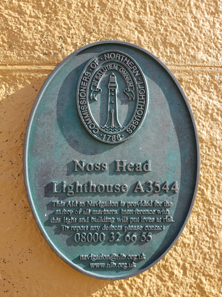 The Northern Lighthouse Board owns and runs the Lighthouse but not the cottages